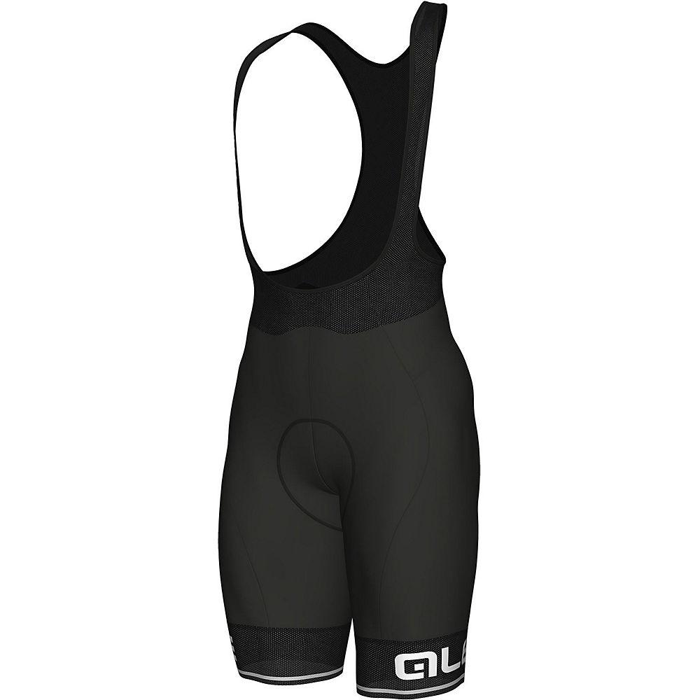 Alé Corsa Bib Shorts - Black-White - XL, Black-White