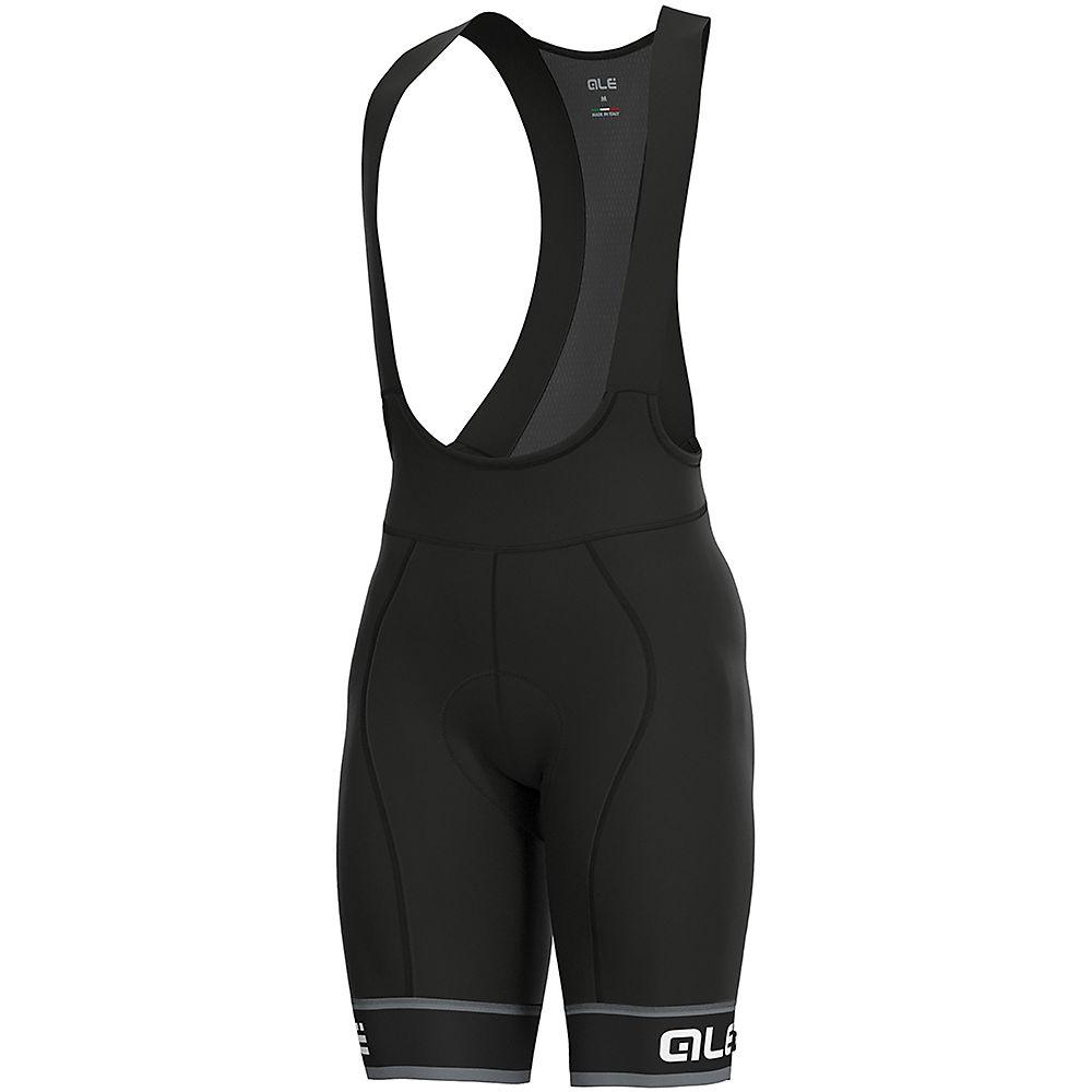 Alé Graphics PRR Sella Bib Shorts - Black-White, Black-White