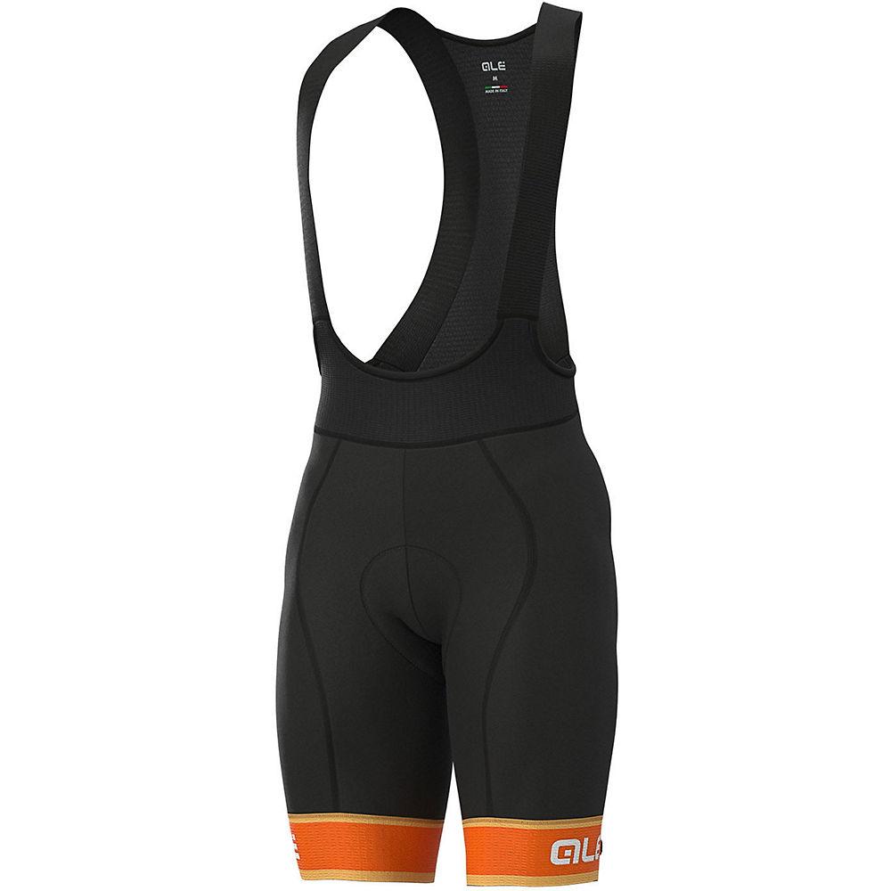 Alé Graphics PRR Sella Bib Shorts - Fluro Orange-White - M, Fluro Orange-White