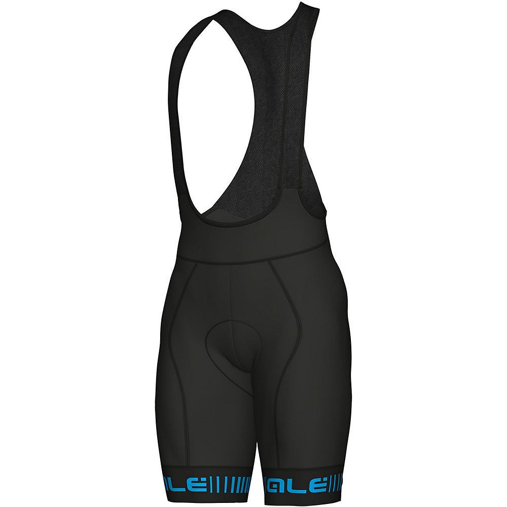 Alé Graphics PRR Strada Bib Shorts - black-blue - M, black-blue