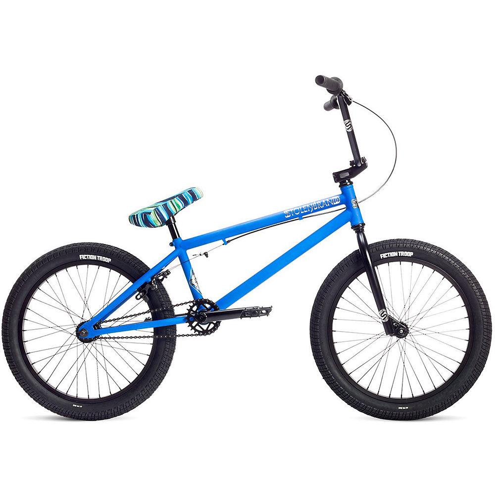 Stolen Casino BMX Bike 2019 – Matte Ocean Breeze Blue – 20.25″, Matte Ocean Breeze Blue