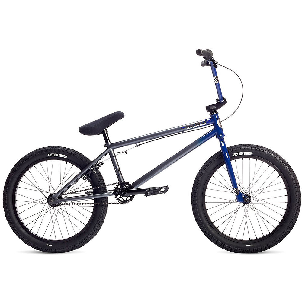"Image of Stolen Stereo BMX Bike 2019 - Blue-Gray Fade - 20.75"", Blue-Gray Fade"