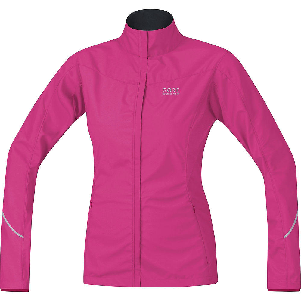 Image of Veste Gore Running Wear Essential WS AS Partial Femme - Rose jazzy