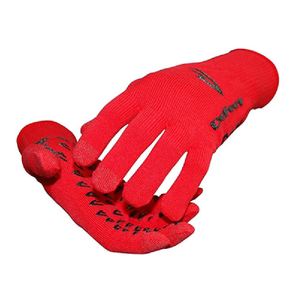 Image of Defeet E-Touch Dura Gloves - Red - XL, Red