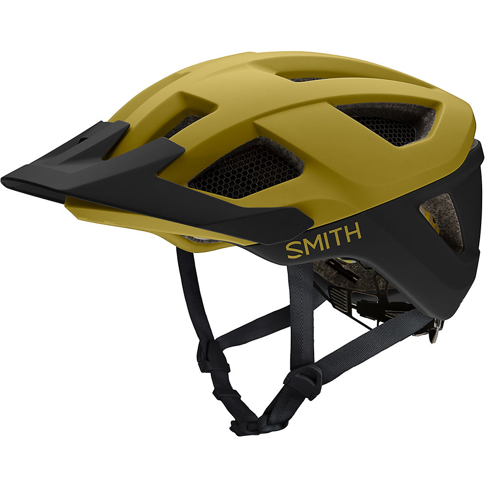 Smith Session MIPS Helmet 2018 – Matte Mystic Green – Black, Matte Mystic Green – Black