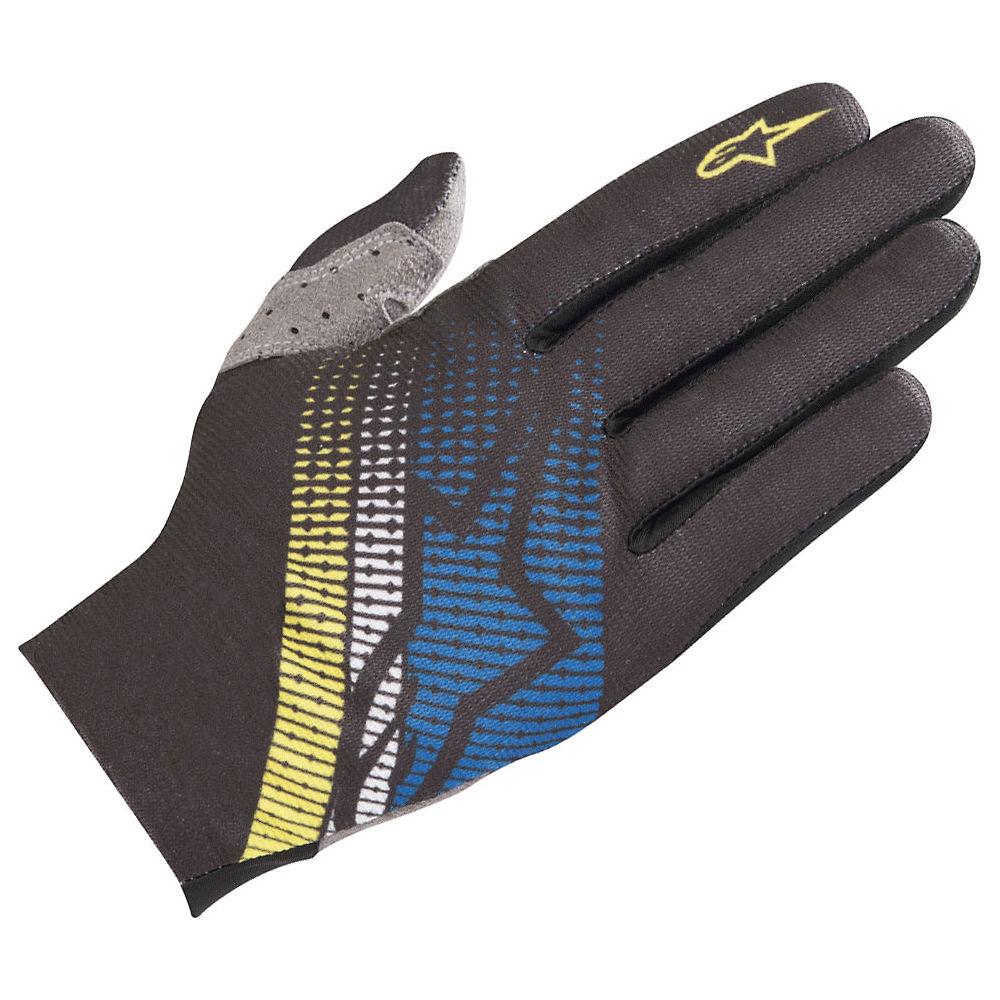 Alpinestars Predator Gloves  - Black-blue-yellow - Xxl  Black-blue-yellow