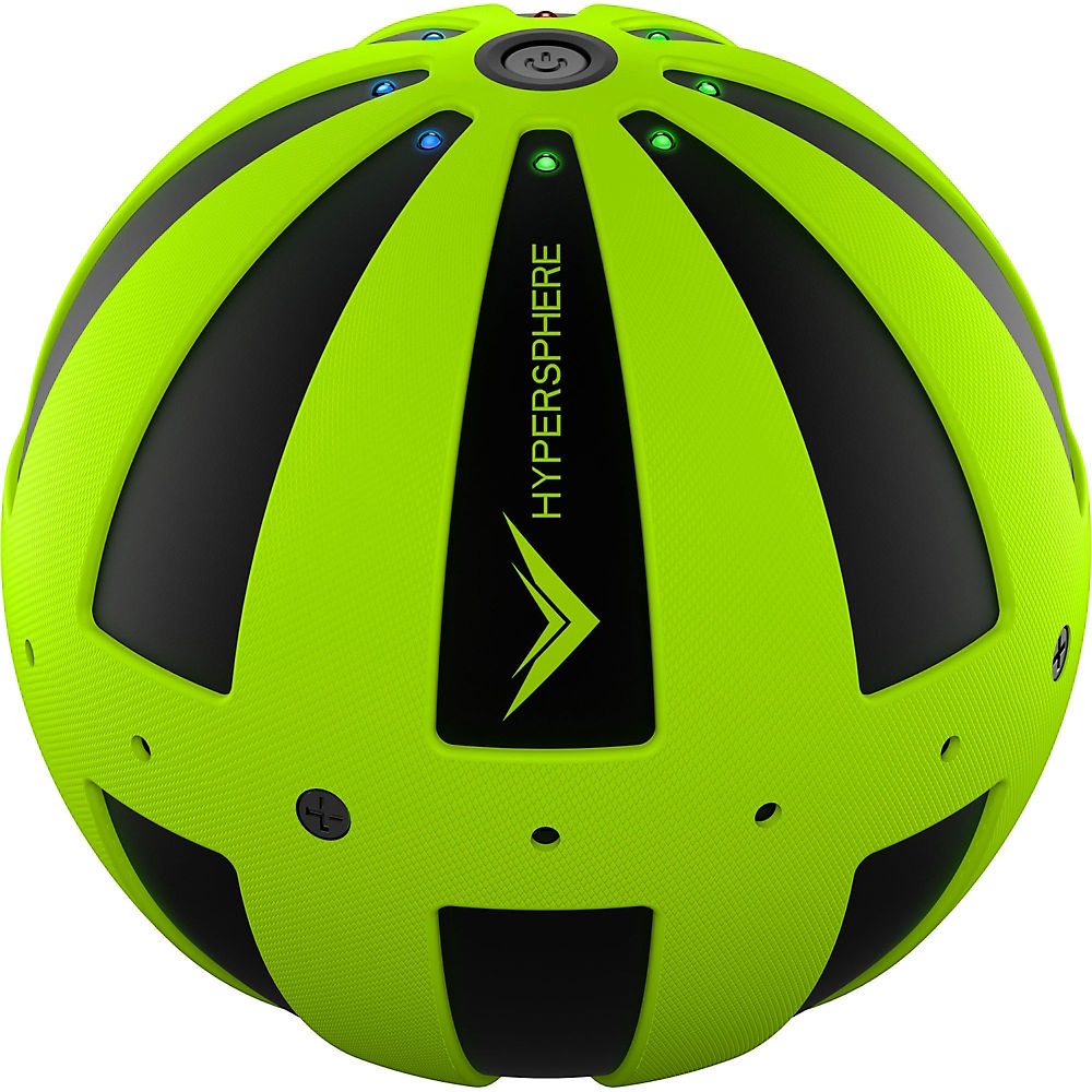 Image of Balle de massage vibrante Hyperice Hypersphere - Noir-Vert, Noir-Vert