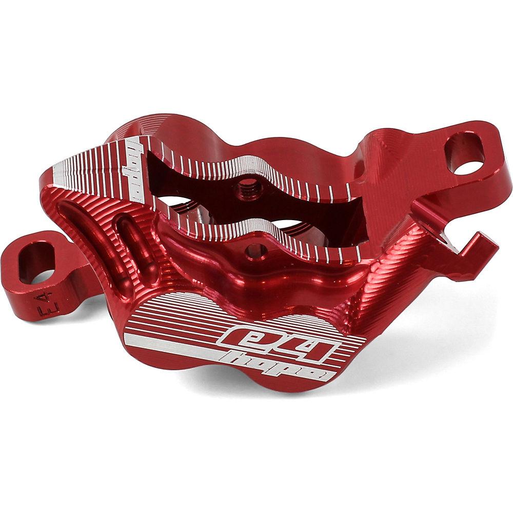 Hope E4 Caliper Body - Red  Red