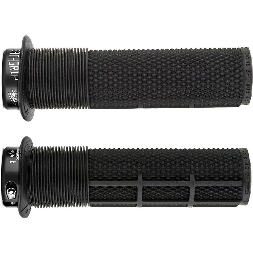DMR Brendog Flange Race Death Grip - Negro - 135mm, Negro