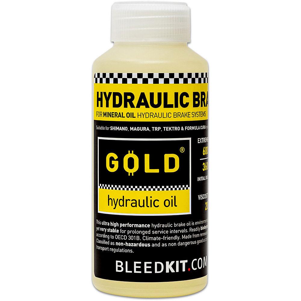 Bleed Kit Hydraulic Brake Fluid 100ml - Hydraulic Based Brakes - Gold