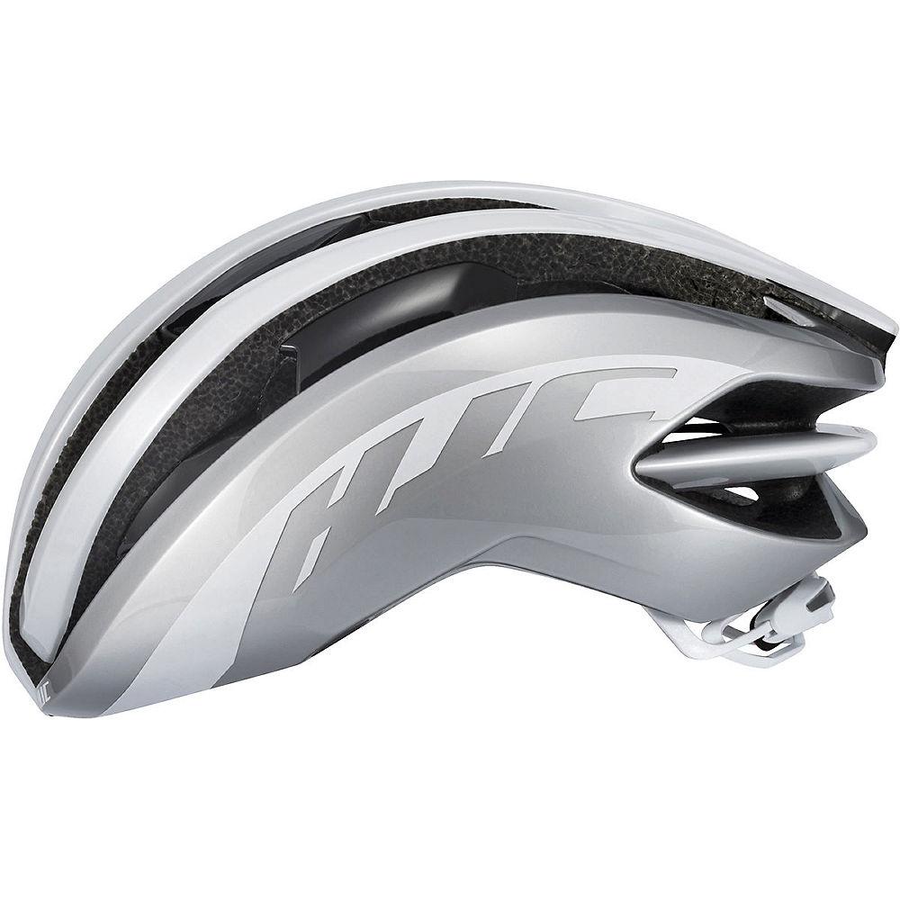 Hjc Ibex Road Helmet 2018 - White Silver - Xl/xxl  White Silver