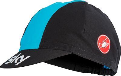 Cappellino ciclistico Team Sky 2018 Castelli