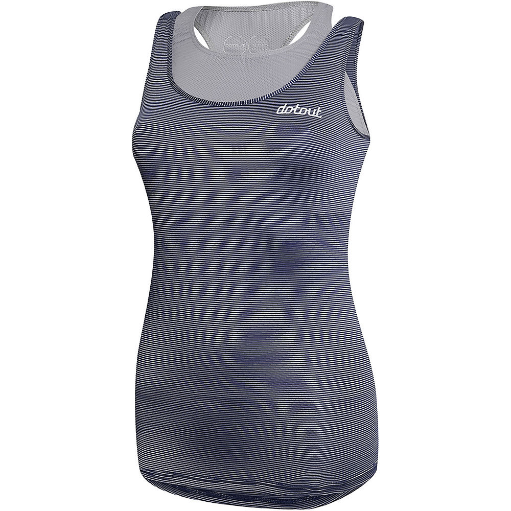 Image of Maillot Dotout Oxygen Femme - Deep Light Blue, Deep Light Blue