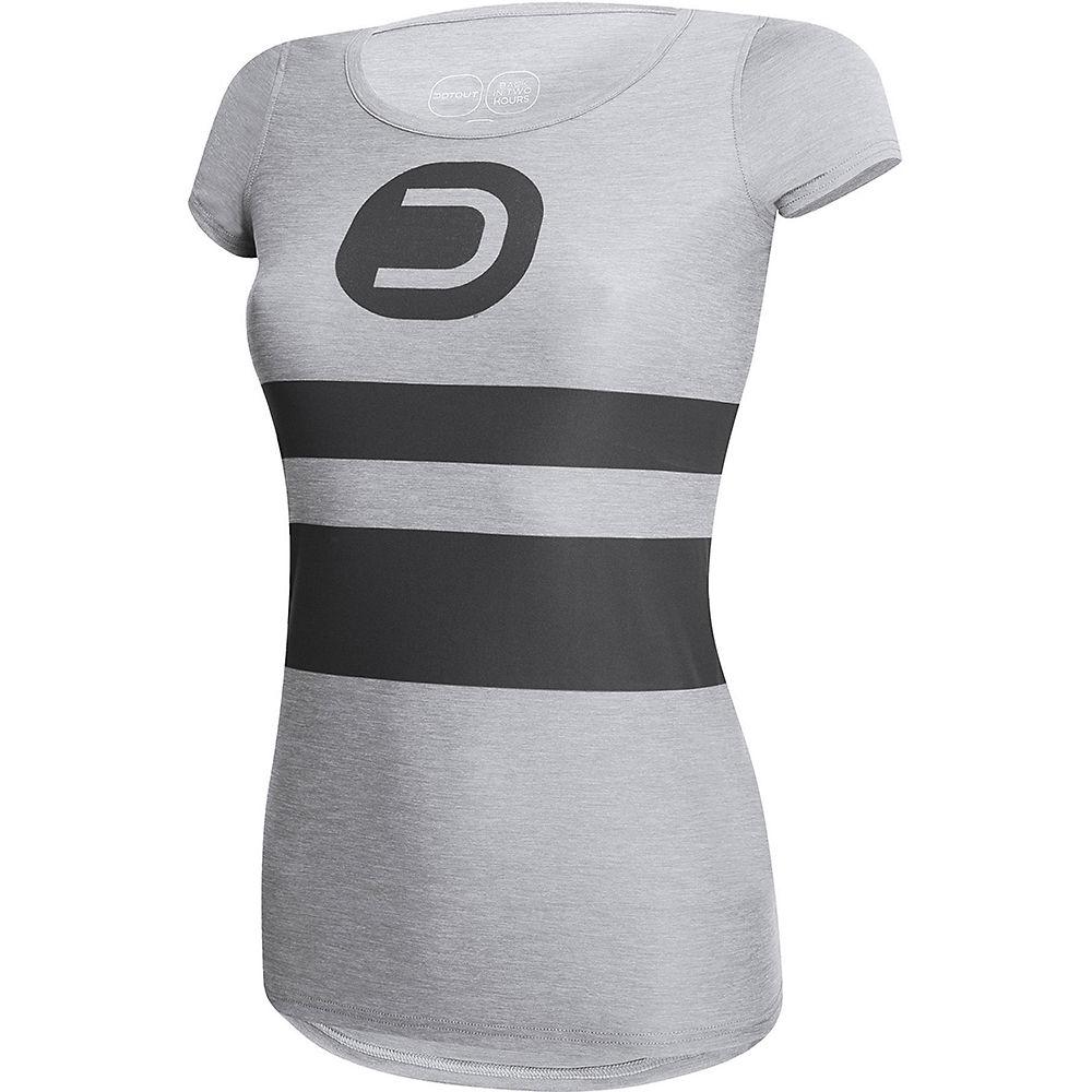 Image of Dotout Women's Liberty T-Shirt - Melange Light Grey - XXL, Melange Light Grey