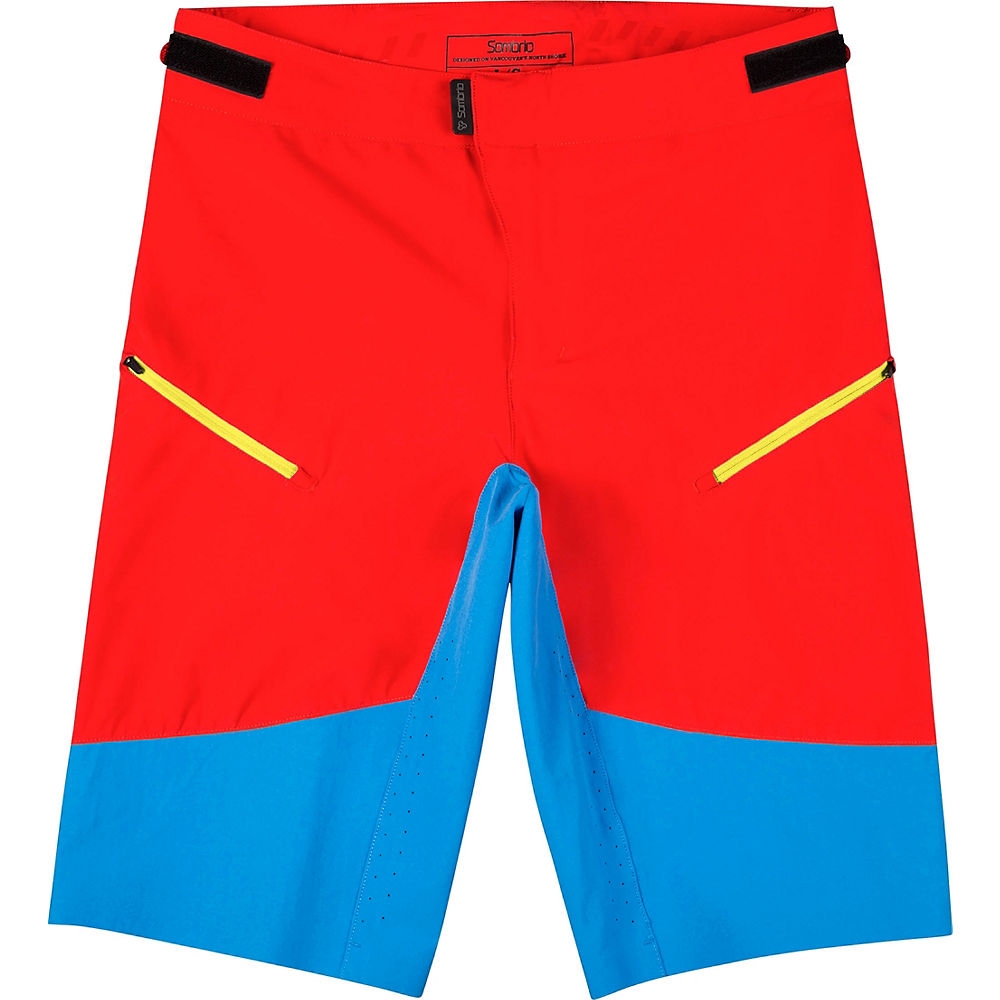 Sombrio Pursuit Shorts (2017) 2017 - Red - XL