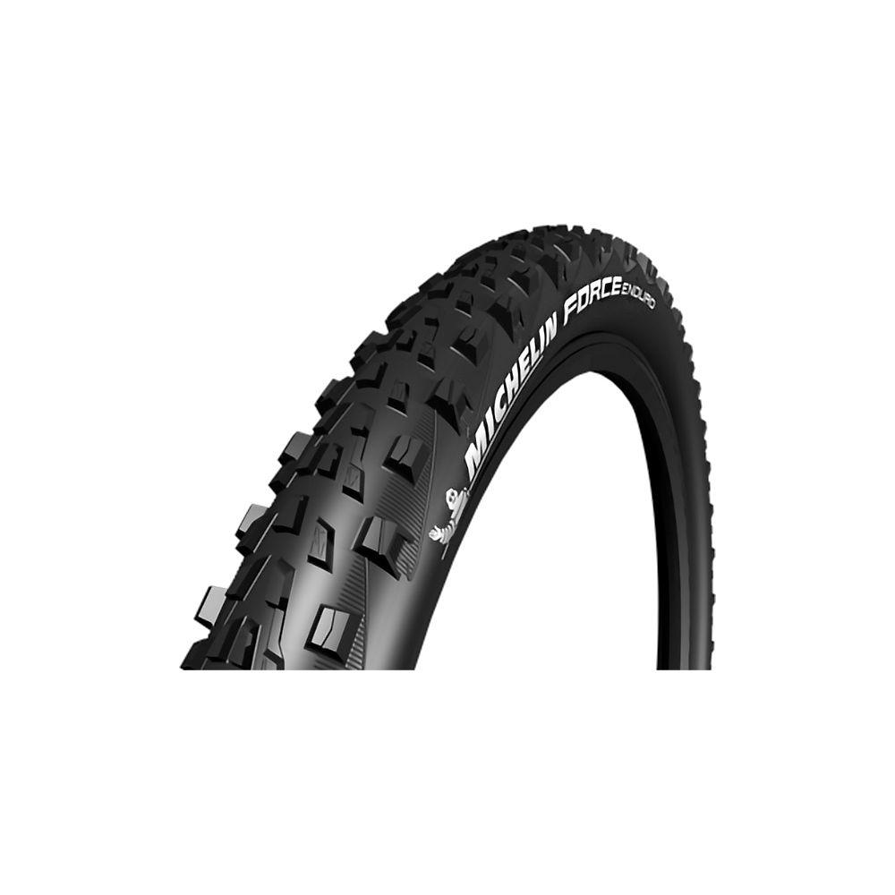 Michelin Force Enduro Gum-X TS TLR Rear MTB Tyre - Black - Folding Bead, Black