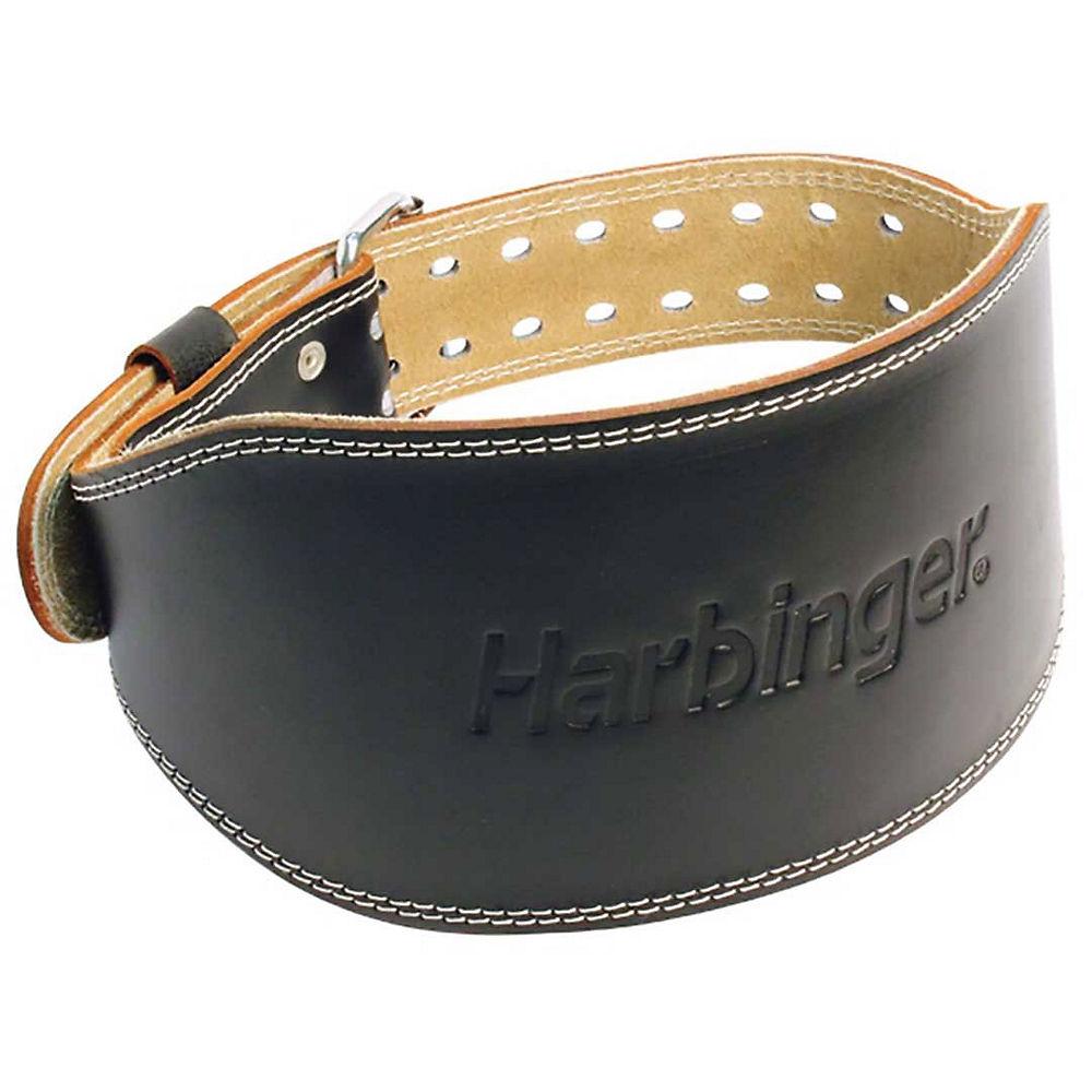 Harbinger 6 Padded Leather Belt - Black - Black Extra Large  Black