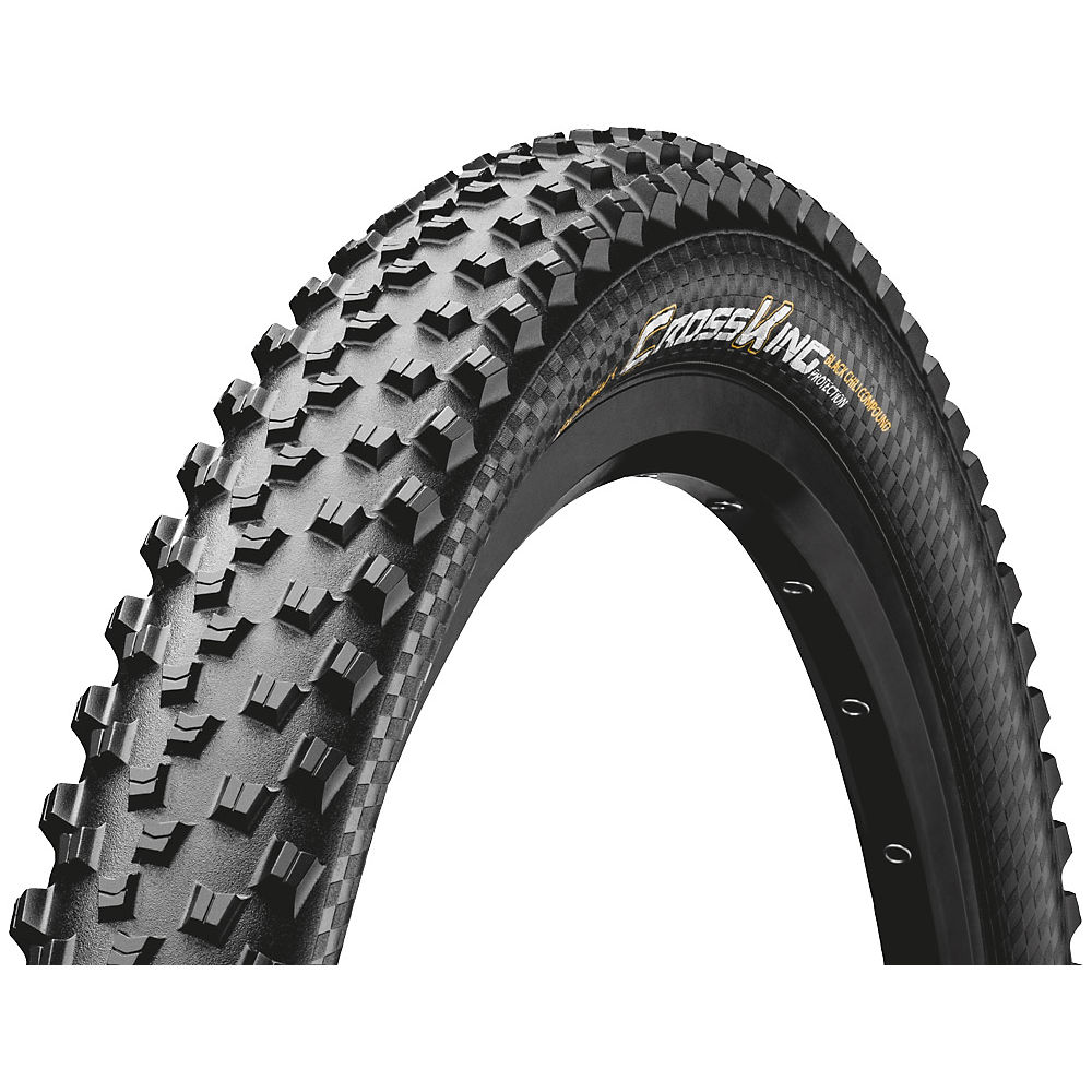 Continental Cross King Protection Folding Mtb Tyre - Black - 29  Black