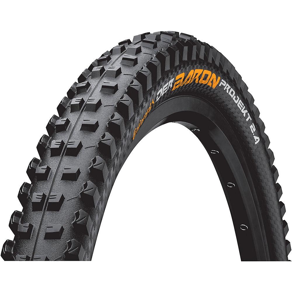 Continental Der Baron Projekt Folding MTB Tyre - Black - 27.5
