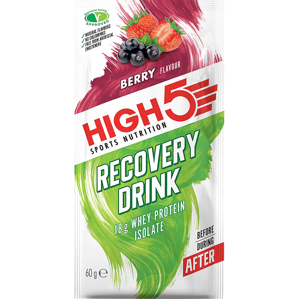 Image of HIGH5 Protein Recovery Drink Sachets 60g x 9