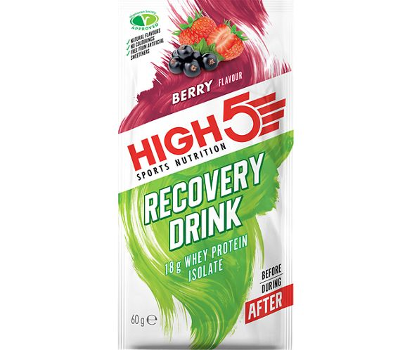 Sachets de boisson High5 Protein Recovery (60 g x 9)