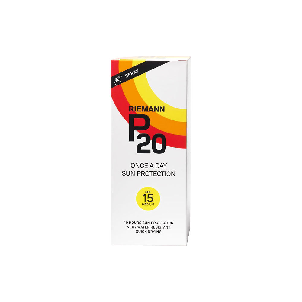 P20 SPF15 Sun Protection Spray (200ml) - White, White
