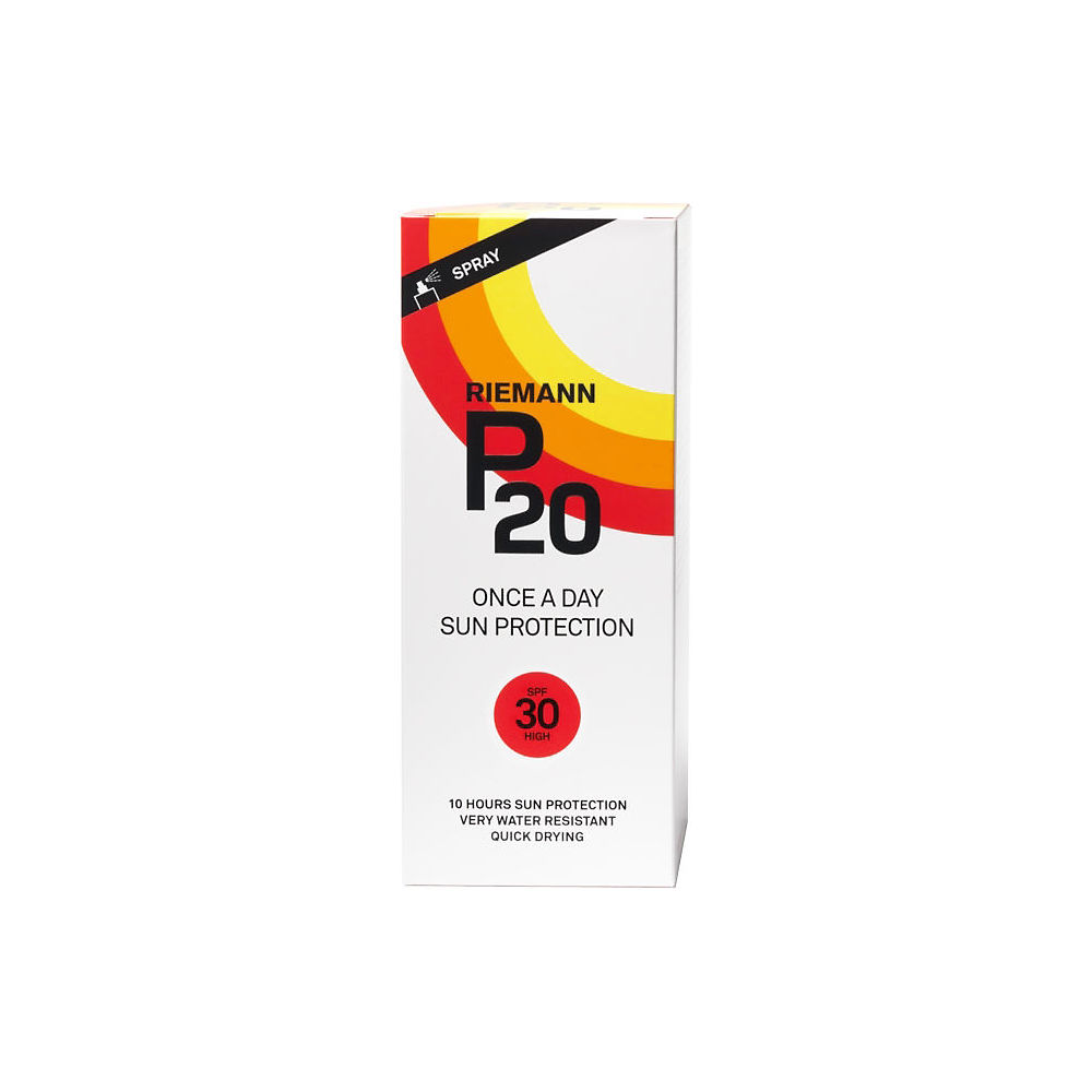 Image of Spray de protection solaire P20 SPF30 (200 ml) - Blanc, Blanc