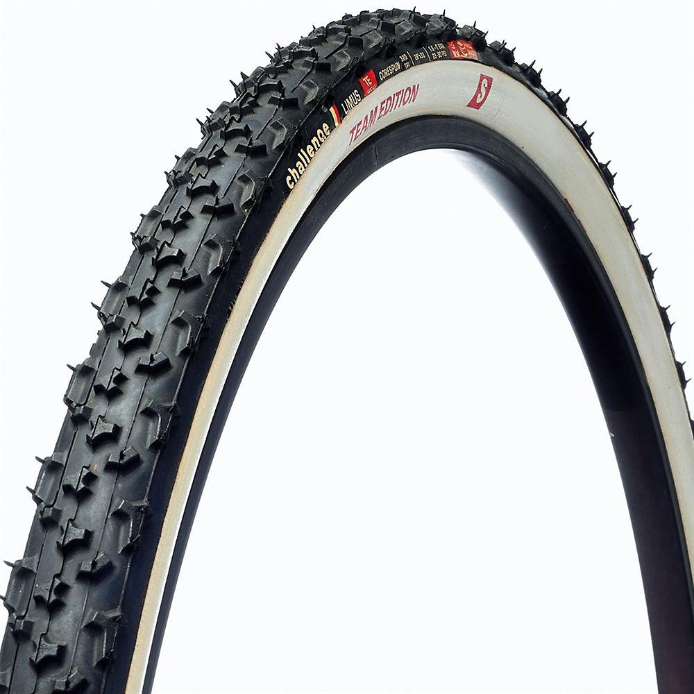 Image of Boyau de cyclo-cross Challenge Limus - Blanc - 33c, Blanc