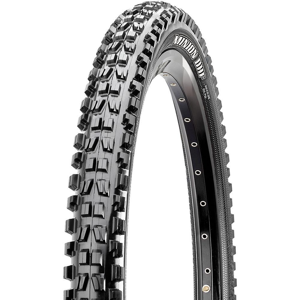 Maxxis Minion DHF MTB Tyre - 3C - TR - DD - Black - Folding Bead, Black