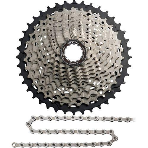 da5683a59df Shimano SLX M7000 11sp Cassette & Chain Bundle | Chain Reaction Cycles