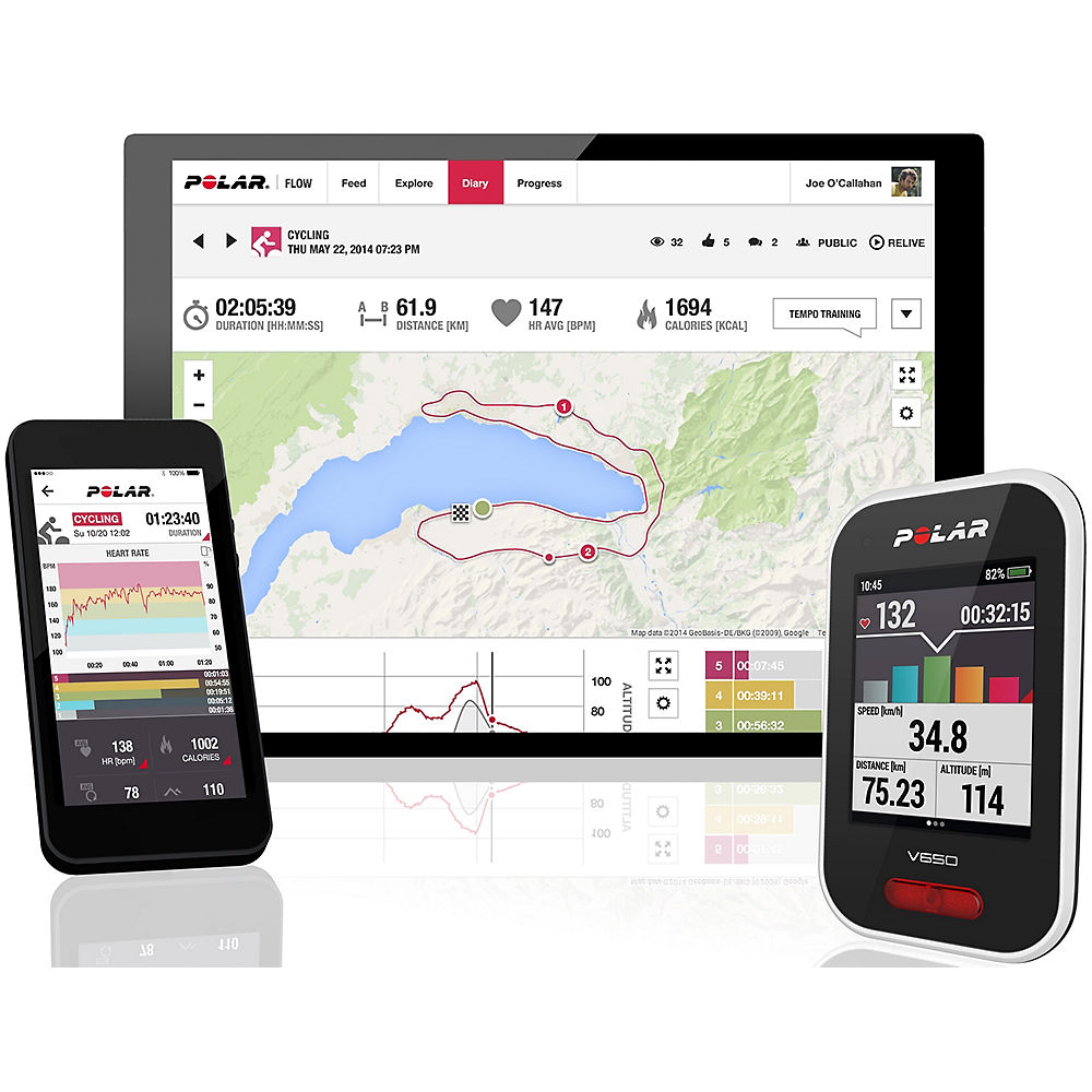 Polar Polar V650 with Heart Rate (Polar H10) 2018