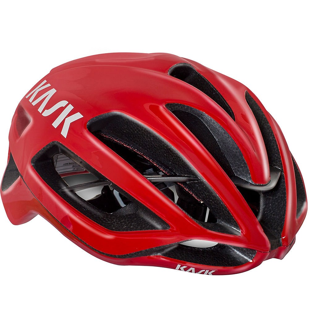 Image of Kask Protone Road Helmet - Red, Red
