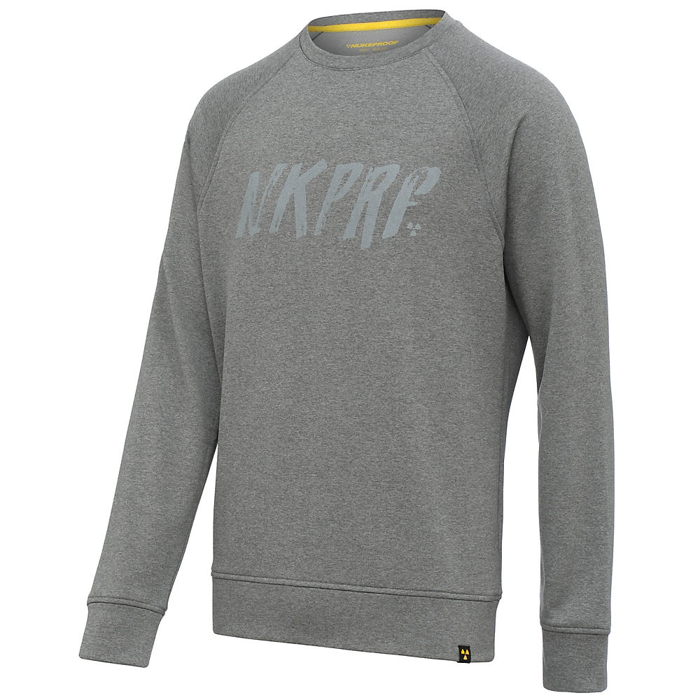 Nukeproof Outland Crewneck Sweatshirt - Grey - M  Grey