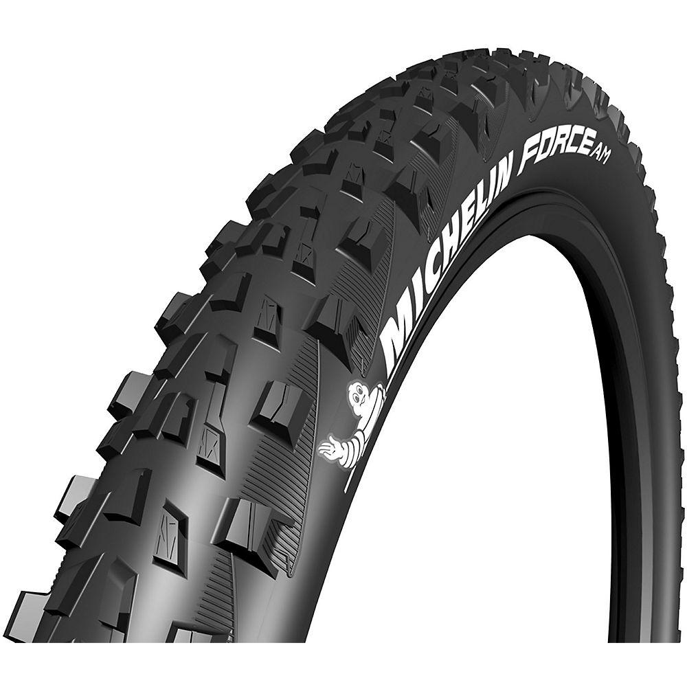 Michelin Force AM Performance TLR MTB Tyre - Black - Folding Bead, Black