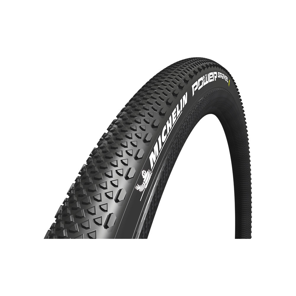 Michelin Power Gravel TLR Road Tyre - Black - 700c, Black