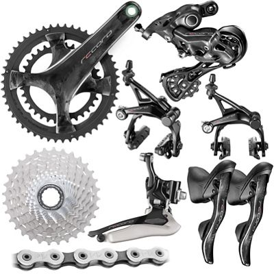 Here we look at the range of 'Campag' groupsets for the road and their hierarchy…