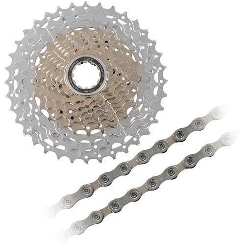 08bccb4c845 Shimano SLX HG81 10sp Cassette + Chain Bundle | Chain Reaction Cycles