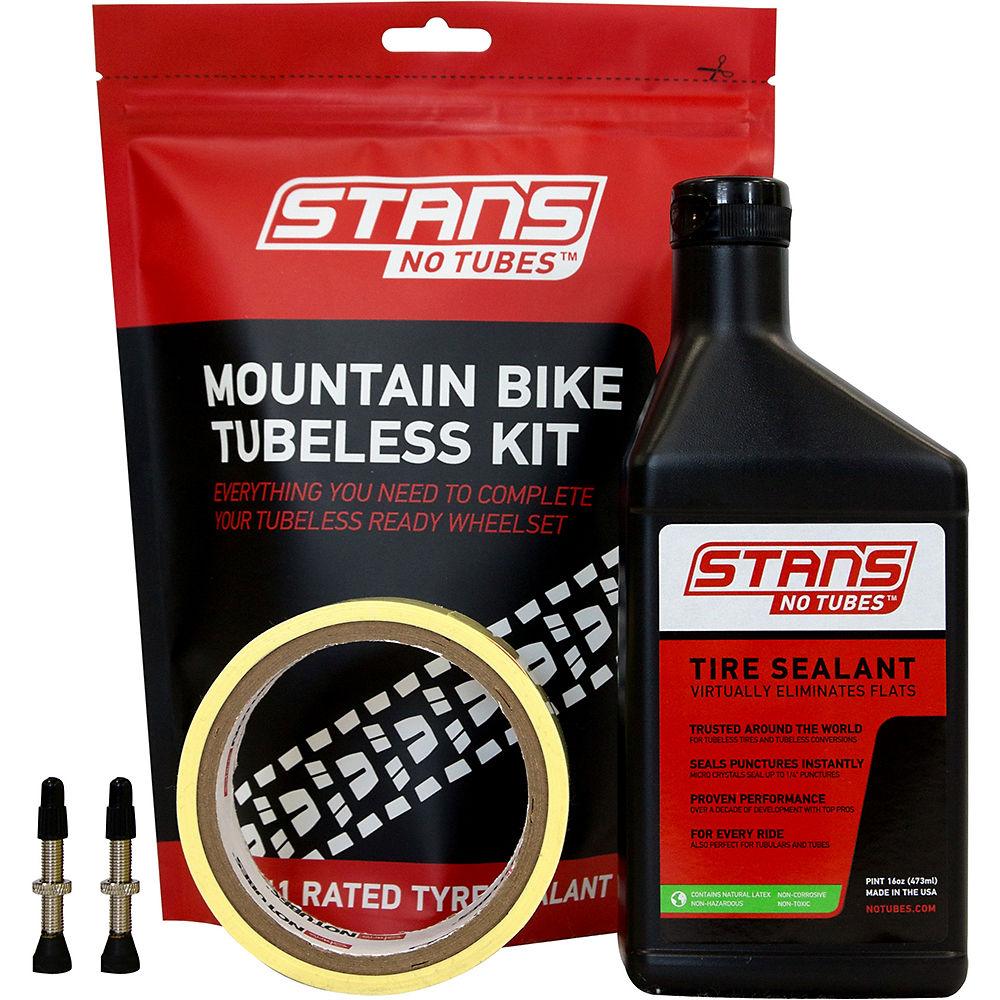Stans No Tubes Mountain Bike Tubeless Tyre Kit - 25mm