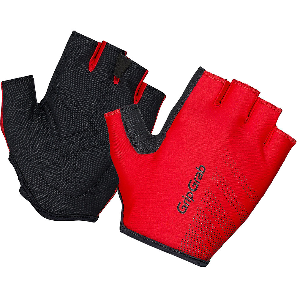 Gripgrab Ride Lightweight Padded Glove - Red  Red