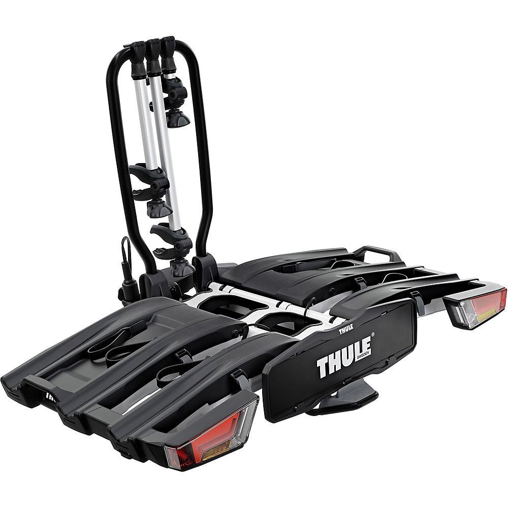 Thule 934 Easyfold Xt Towball Rack (3 Bike) - Black-silver - 3-bike  Black-silver