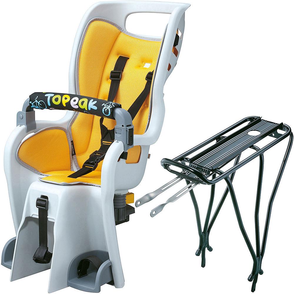 Topeak Rack & Babyseat II Child Seat - Negro, Negro