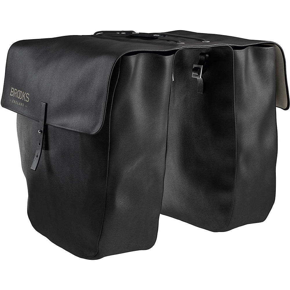 Brooks England Brick Lane Pannier Bag - Black - 24 Litres  Black