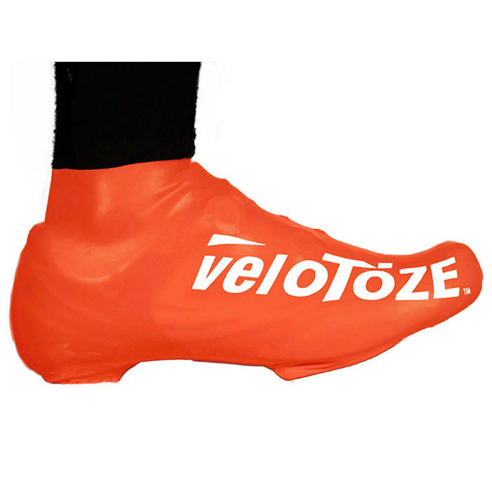 Image of Couvre-chaussures VeloToze Short - Orange, Orange