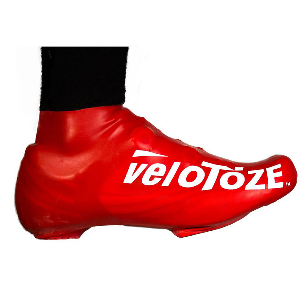 Image of Couvre-chaussures VeloToze Short - Rouge, Rouge