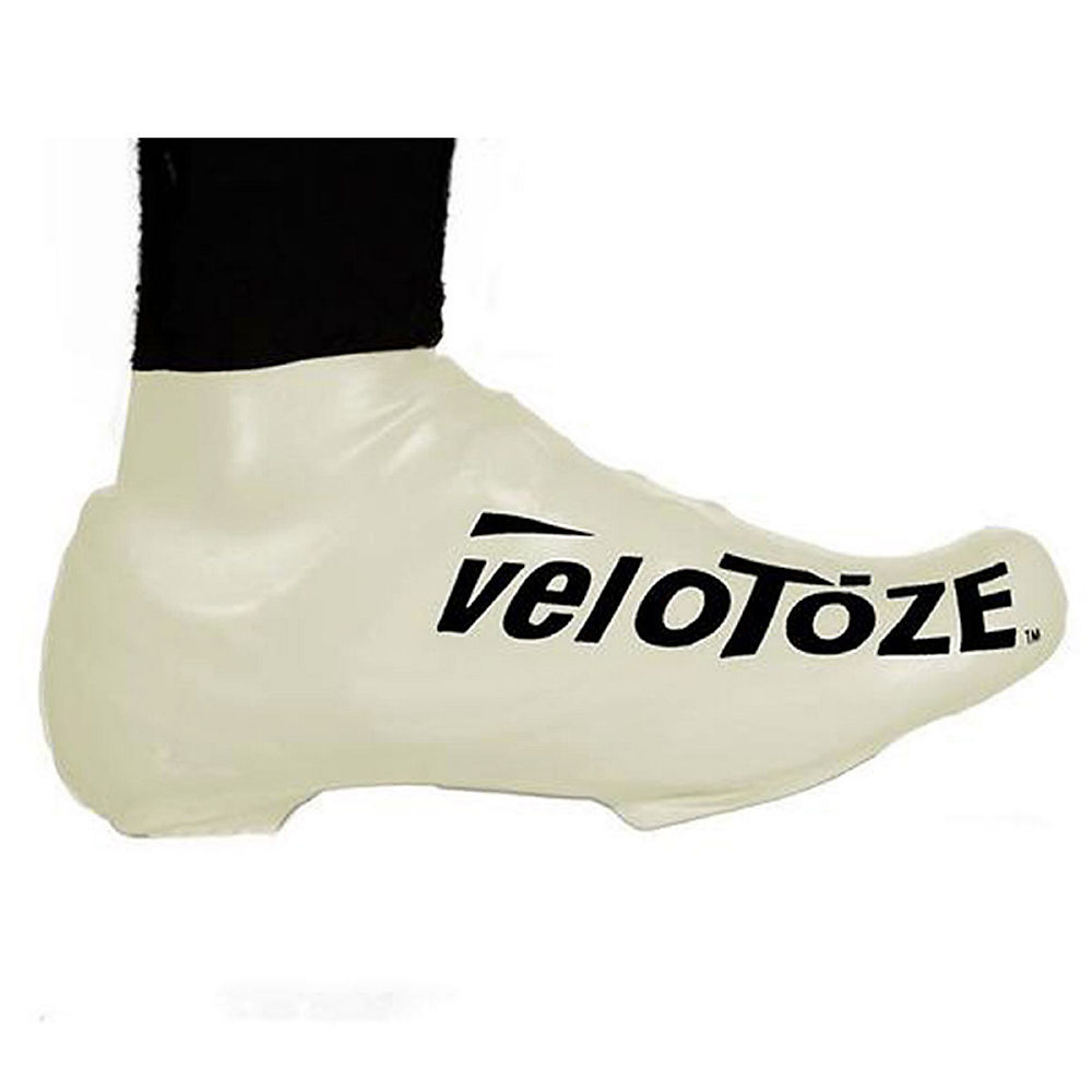 Image of Couvre-chaussures VeloToze Short - Blanc, Blanc