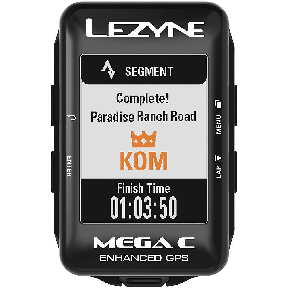 Lezyne Mega C GPS 2018 – Black, Black