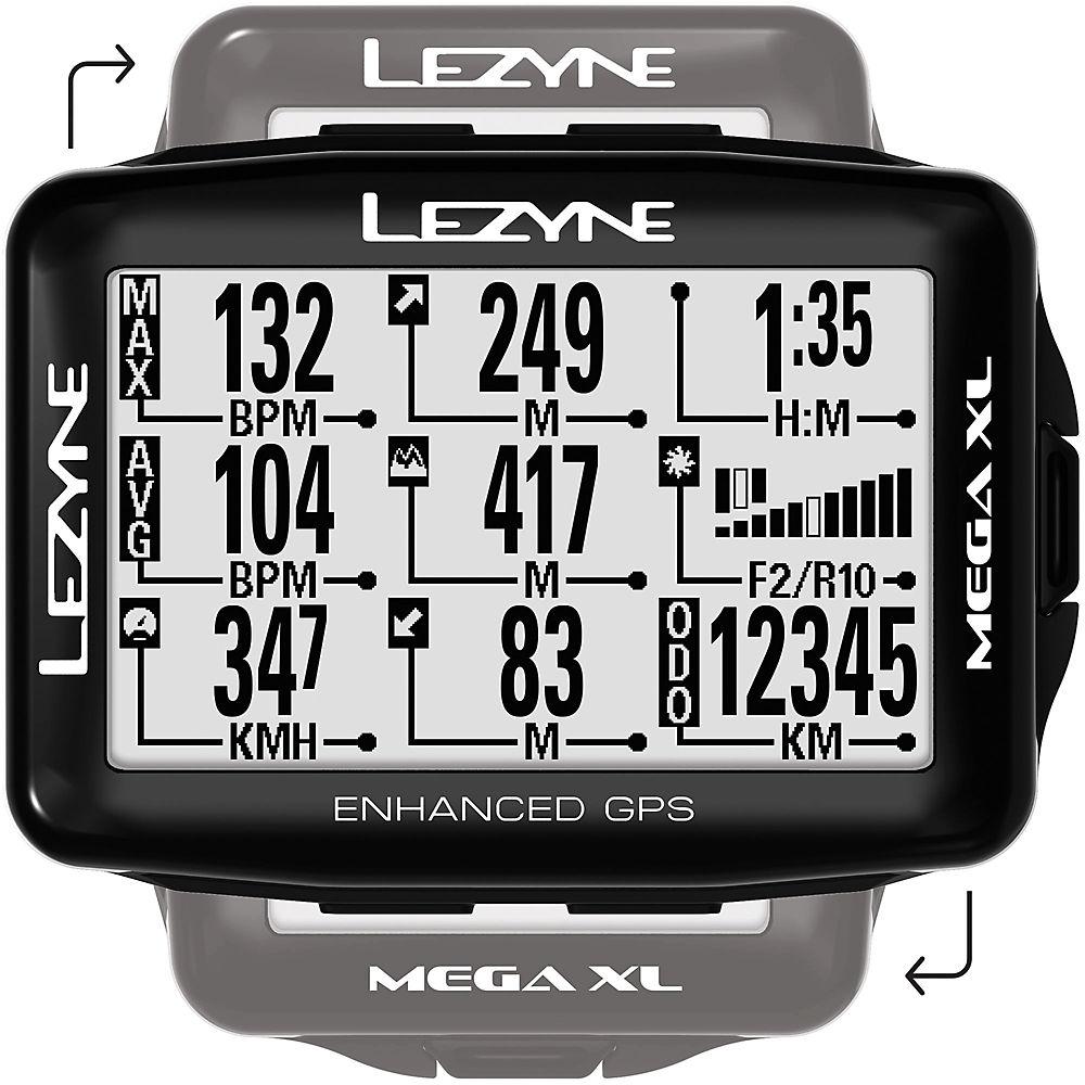 Lezyne Mega Xl GPS 2018 – Black, Black