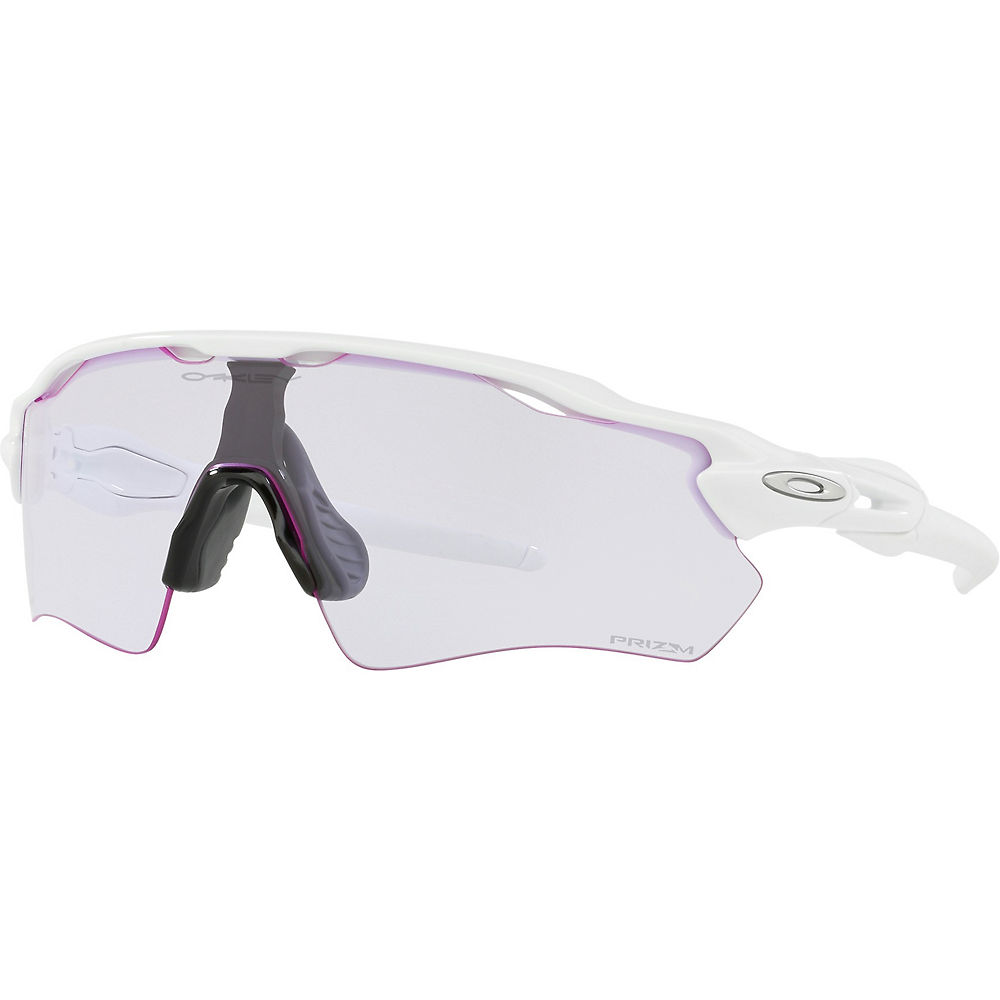 Oakley Radar EV Path Prizm Low Light 2018 - Blanco pulido, Blanco pulido