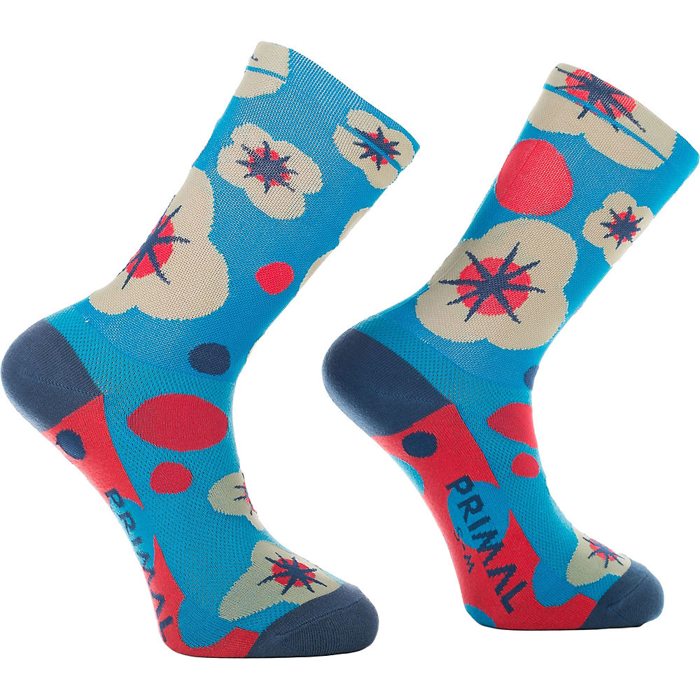 Image of Chaussettes Primal Floral Explosion - Multi - L/XL/XXL, Multi
