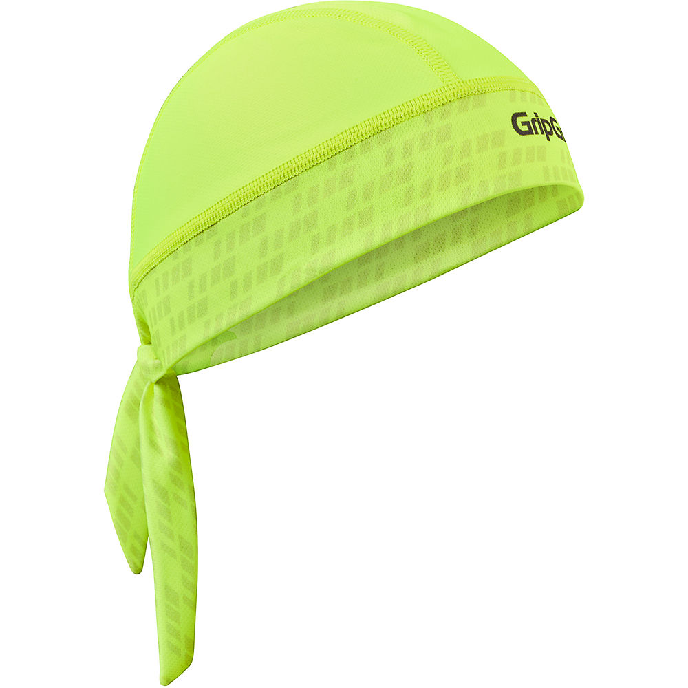 Image of Bandana GripGrab - Yellow Hi-Vis - One Size, Yellow Hi-Vis